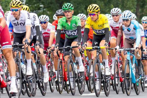 2017 Tour de France group picture.
