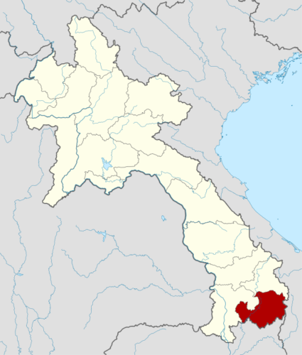 Attapeu is in the south of Laos.