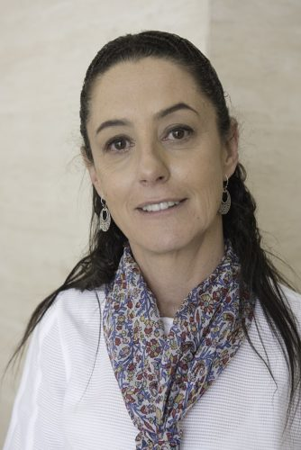 Claudia Sheinbaum Pardo is the first woman elected to be the mayor of Mexico City.