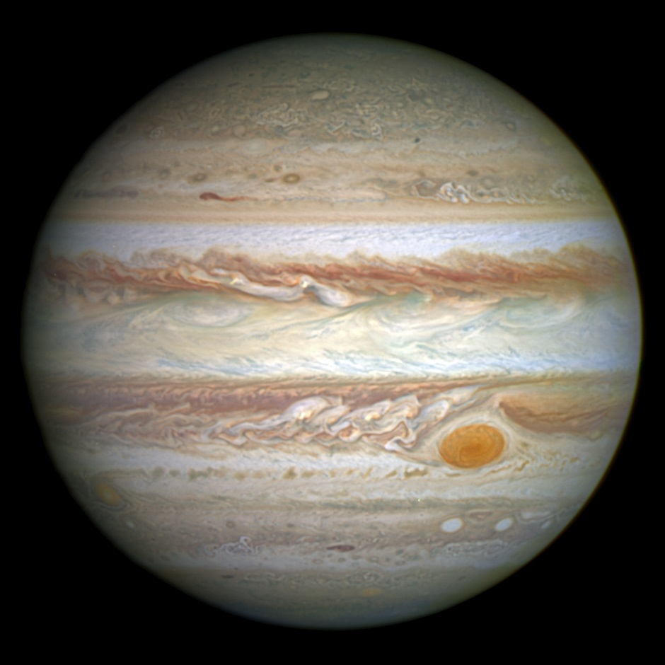 Picture of Jupiter taken in 2014.
