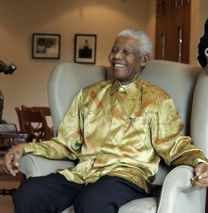 Nelson Mandela in March, 2009.