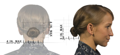 Even with the new rules, the Navy still has very detailed ideas about how women can wear their hair.