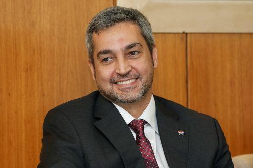 Mario Abdo Benitez - president of Paraguay