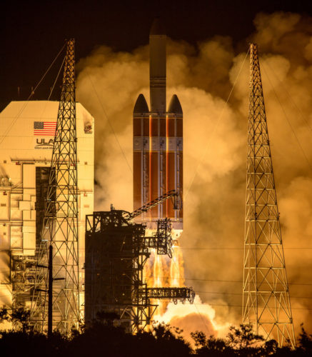 Launch of NASA's Parker Solar Probe