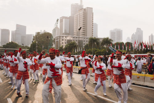 65,000 people danced in Jakarta, and more people danced in other places.
