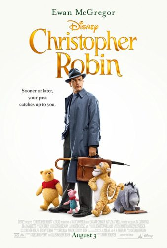 Poster for the movie Christopher Robin