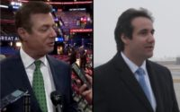 Paul Manafort and Michael Cohen