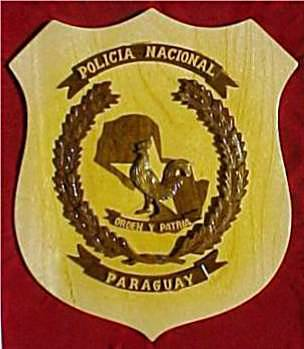 Logo for the National Police of Paraguay