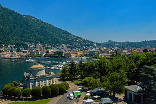 City of Como, Italy.
