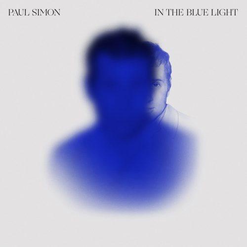 Cover for Paul Simon's new album, In the Blue Light