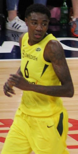 Seattle Storm player Natasha Howard