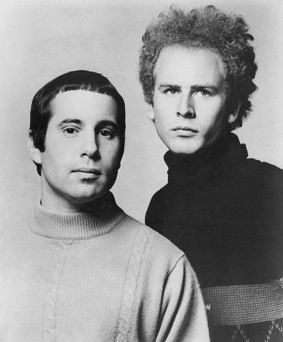 Paul Simon and Art Garfunkel in 1968.