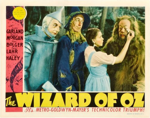 A poster for the movie The Wizard of Oz.