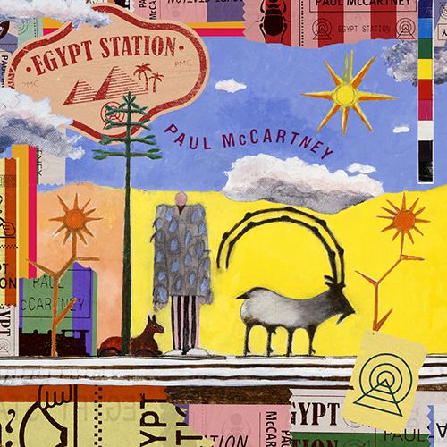 Cover of Paul McCartney's new album, Egypt Station.