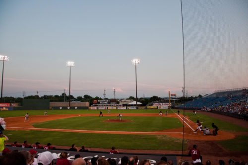 Nashville Sounds game, 2012
