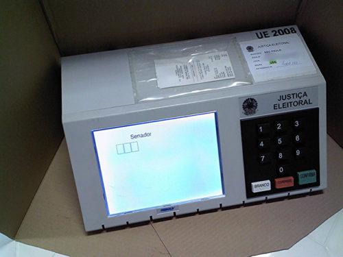 Brazilian electronic voting machine.