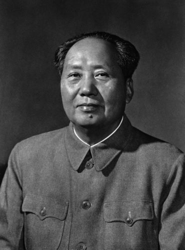 Picture of Mao Zedong from 1963.