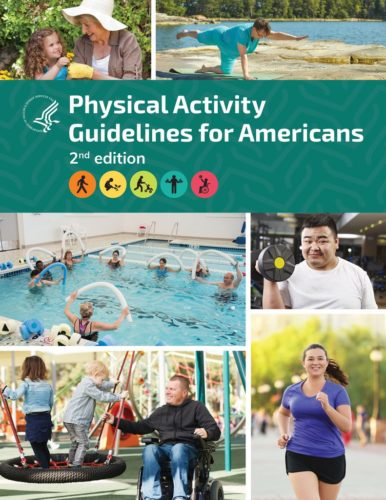 Cover of the new edition of the US government's Physical Activity Guidelines for Americans.