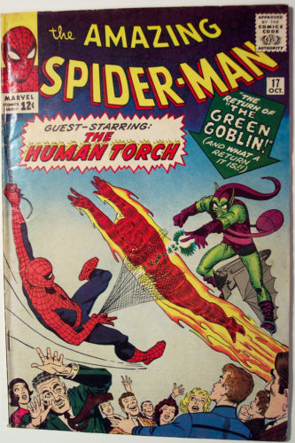 Vintage Comic Book - Amazing Spider-Man #17, Oct 1964