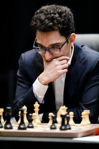 Fabiano Caruana is the number two player in the world right now. He became a grandmaster when he was 14.