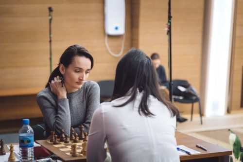 Kateryna Lagno of Russia tied Ms. Ju in the early championship games, but finally lost in the fast blitz chess games.