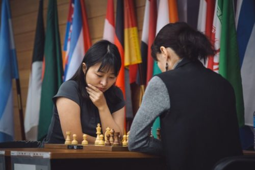 Ju Wenjun of China held on as the women's world chess champion.