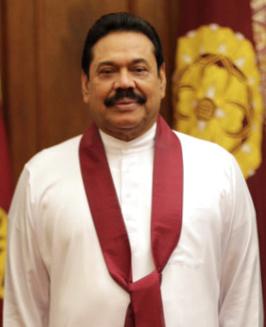 Photograph of 6th President of Sri Lanka,His Excellency Mahinda Rajapaksa - 2014