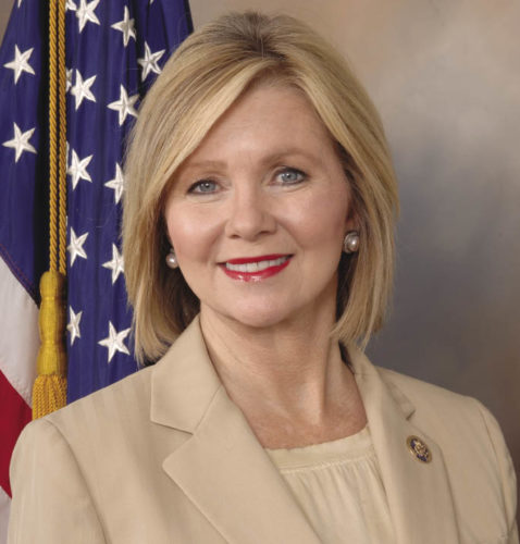 Official Congressional portrait of Congresswoman Marsha Blackburn