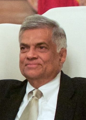 Official picture of Ranil Wickremesinghe - 2015