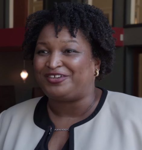 Stacey Abrams in May 2018.