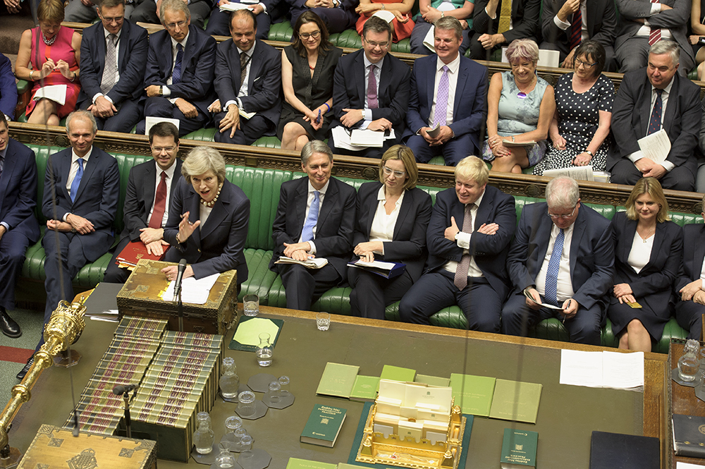 Theresa May's first PMQs as Prime Minister