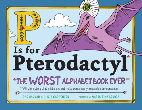 Cover of the book P is for Pterodactyl.