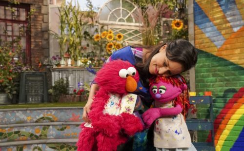 "Photo: ""Homelessness - SOCIAL IMPACT; Sesame Street ""Outreach Production""; Director: Ken Diego; television production photographed: Friday, October 12, 2018; 9:00 AM at Kaufman-Astoria Studios; Astoria, New York; Photograph: © 2018 Richard Termine."