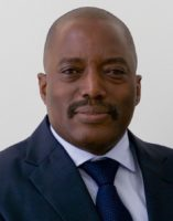 President of the Democratic Republic of the Congo Joseph Kabila, April 22, 2016