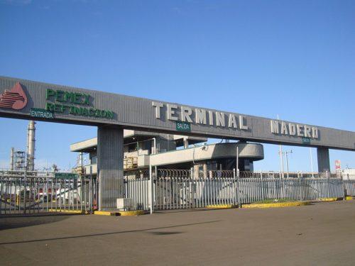 Terminal Matero PEMEX, 1 January 2009