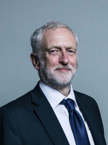 Official portrait of Jeremy Corbyn