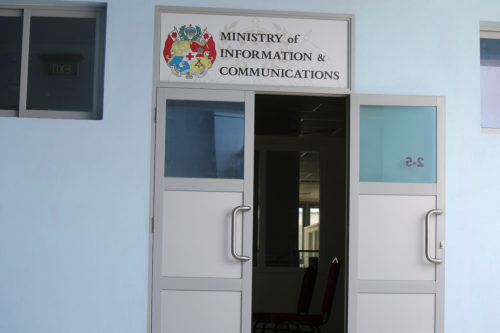 Ministry of Information & Communications office, 2012