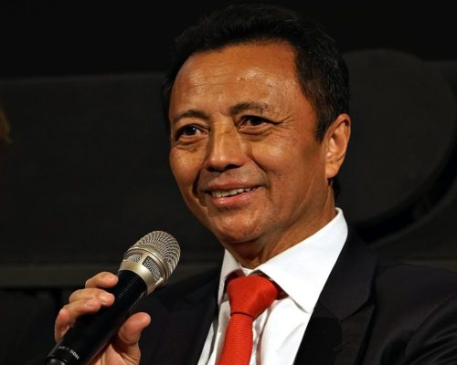 Marc Ravalomanana - Malagasy businessman, politician and President of Madagascar 2002-2009, at Copenhagen, Denmark - March 2017