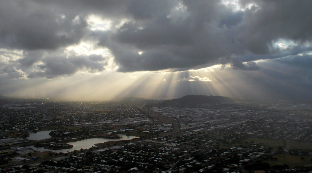 West Townsville - from Castle Hill, 2014