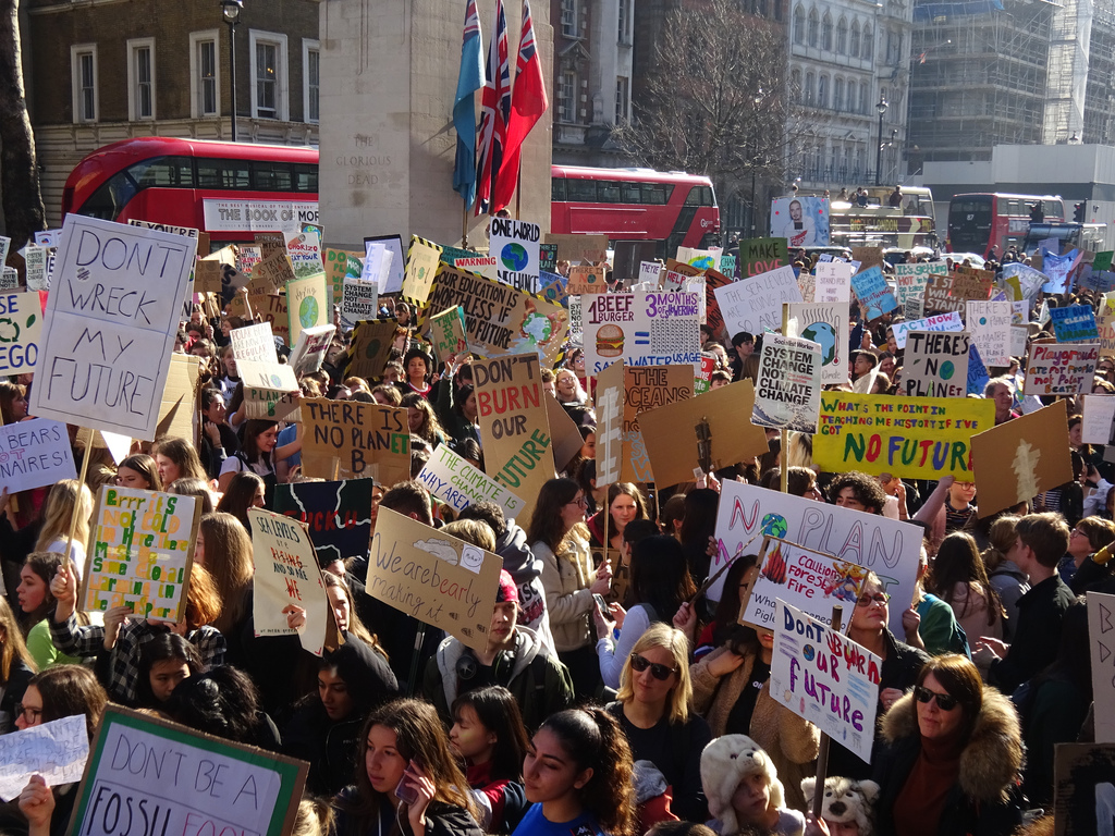 London February 15 2019 (31) School Students Strike for Climate Action