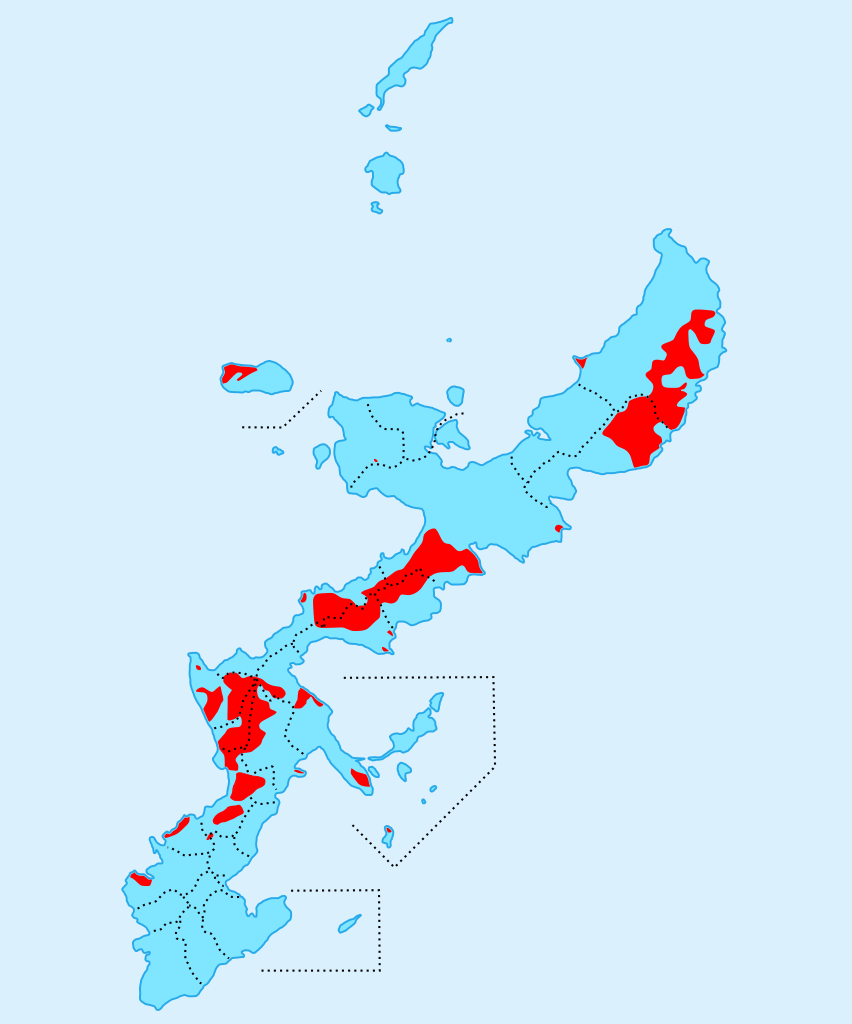 US military bases in Okinawa Prefecture, Japan