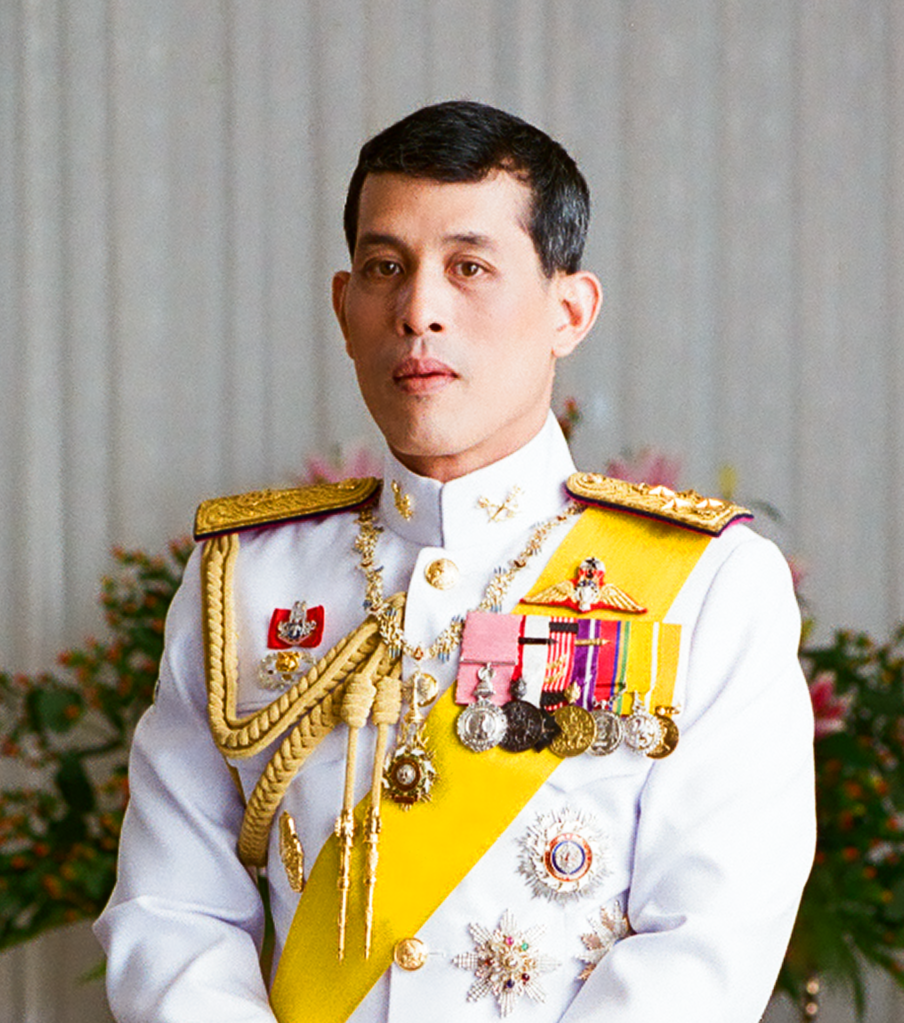 King Maha Vajiralongkorn, Rama X of Thailand.