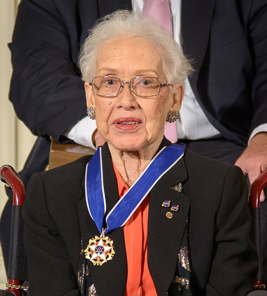 Former NASA mathematician Katherine Johnson is seen after President Barack Obama presented her with the Presidential Medal of Freedom, Tuesday, Nov. 24, 2015, during a ceremony in the East Room of the White House in Washington. Photo Credit: (NASA/Bill Ingalls)