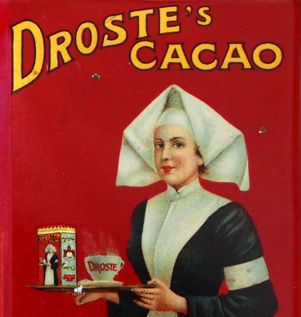 Picture from box of Droste cocoa.