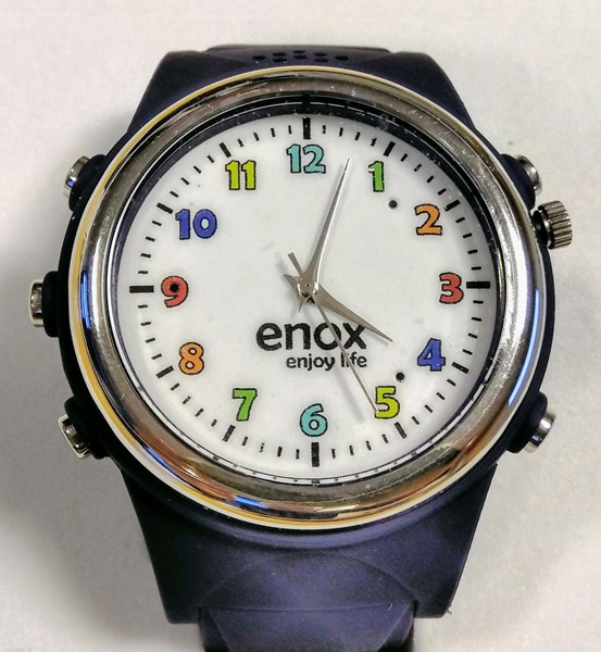 Picture of the Enox Safe-Kid-One smartwatch.