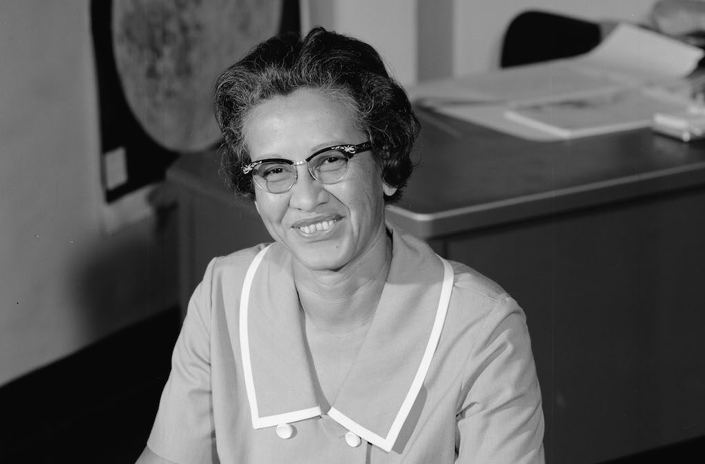 Katherine Johnson, NASA employee, mathematician and physicist, in 1966