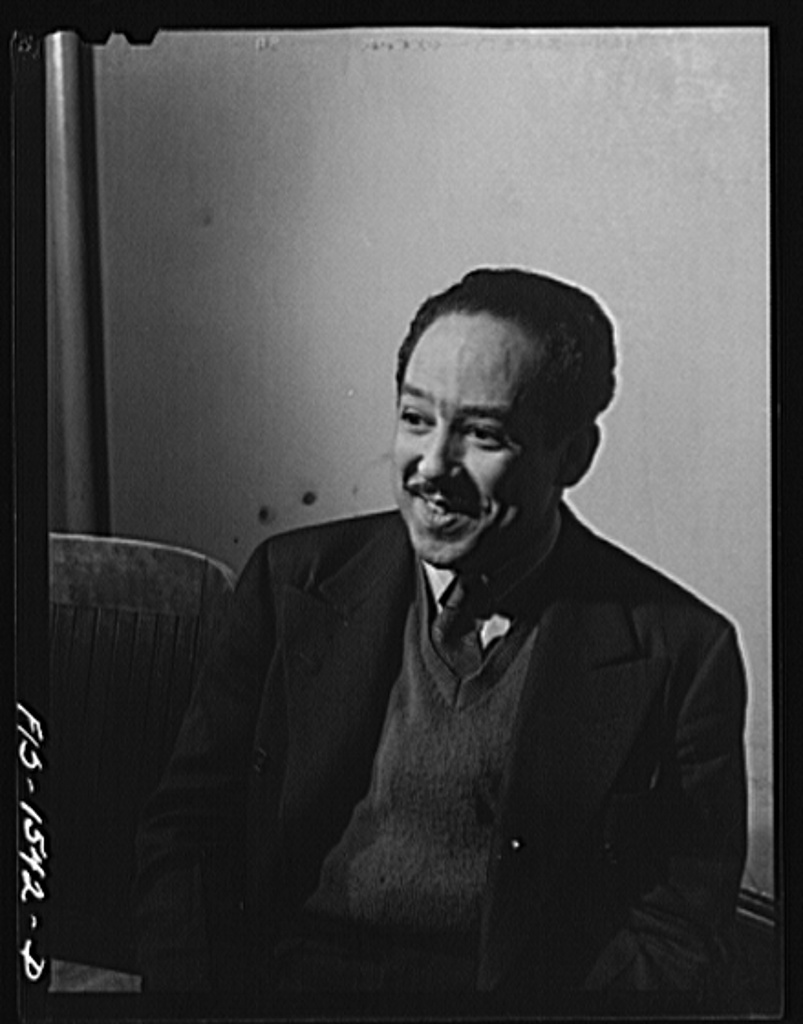Mr. Langston Hughes, Negro poet and playwright. Chicago, Illinois April 1942