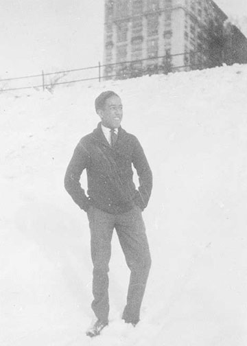 Langston Hughes at Central High School (Cleveland), Langston Hughes high school 1919 or 1920