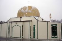 This is the Al Noor Mosque where people had come for Friday prayers.