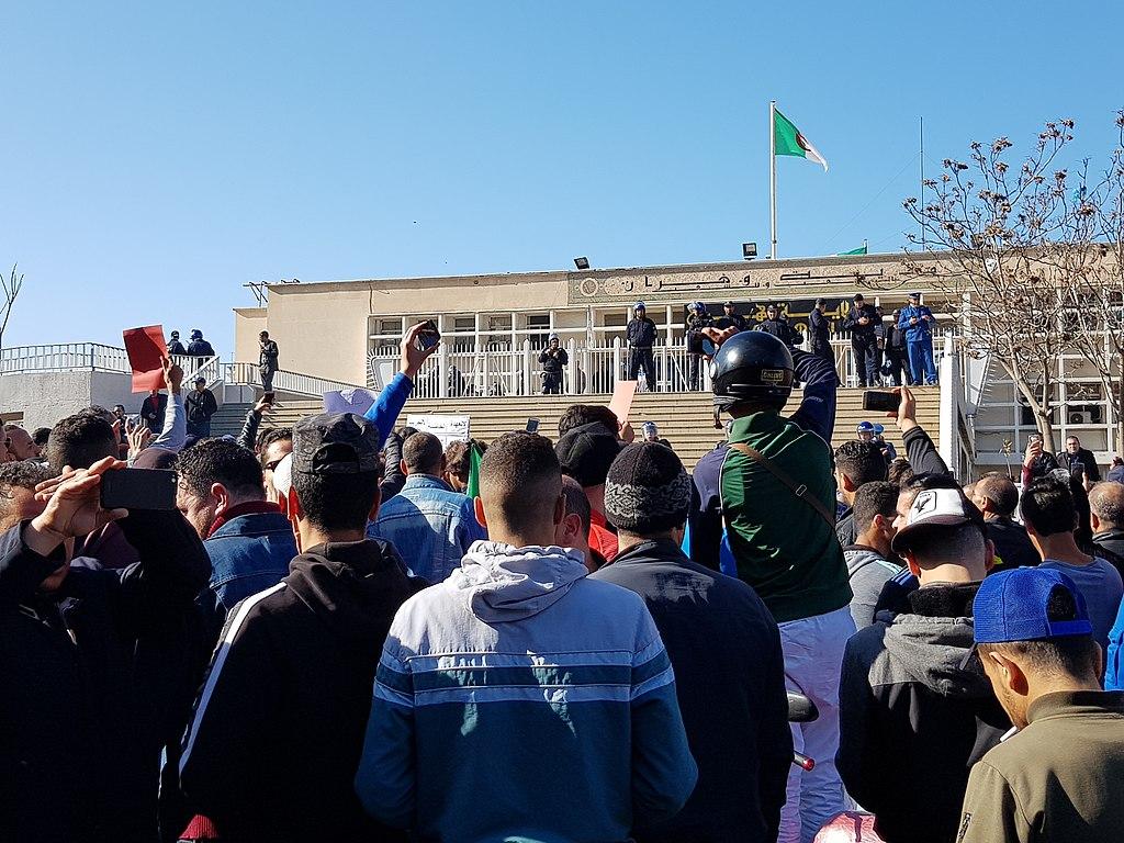 Oran, Algeria protests Feb. 2019